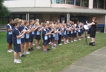 Toowong students bring songs alive through signing